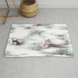 Soft Focus Blooms Rug