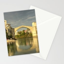 The Old Bridge at Mostar Stationery Cards