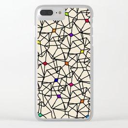 Cubic Clear iPhone Case