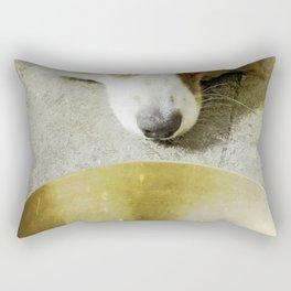 Zen Dog Rectangular Pillow