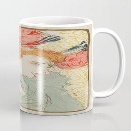 Vintage poster - Woman Coffee Mug