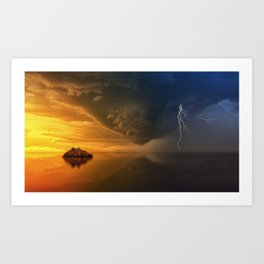 Eyes Of The Storm Art Print