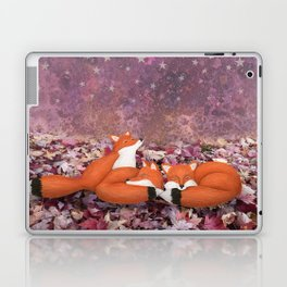 foxes under the stars Laptop & iPad Skin