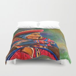 Las marcas del Cuzco Duvet Cover