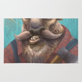 Bison Lumberjack Rug