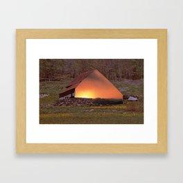 Home Found Framed Art Print