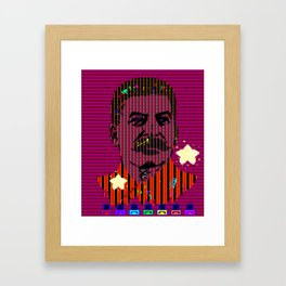 Mario look a like Framed Art Print