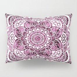 Mandala Mauve Colorburst Pillow Sham