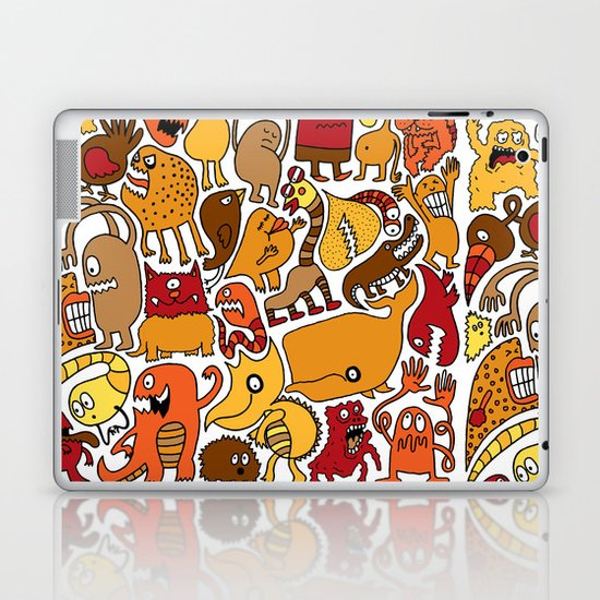 Creatures! Laptop & iPad Skin
