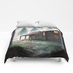 Cabin in the Pines Comforters