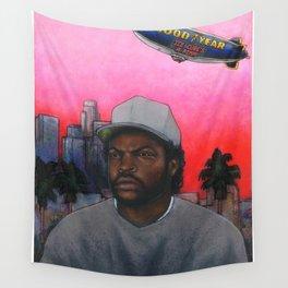 ICE CUBE'S A PIMP! (original) hip hop portrait Wall Tapestry