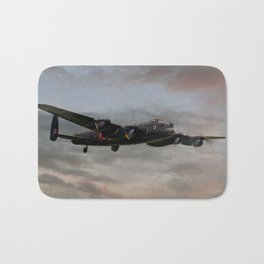 Battle of Britain Memorial Flight - Avro Lancaster Bath Mat