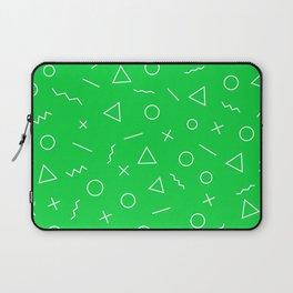 MEMPHIS ((true green)) Laptop Sleeve