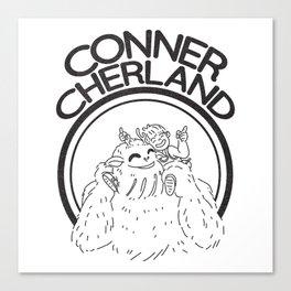 Conner Cherland Logo Canvas Print