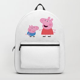 Peppa Pig and George Pig Backpack
