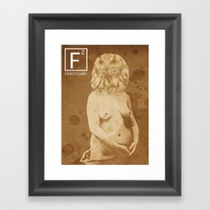 BirdGirl Framed Art Print