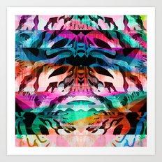 Wild Mix #5 Art Print
