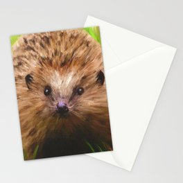 Hedgehog in the Grass Stationery Cards