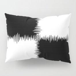 QUARTERS #1 (Black & White) Pillow Sham