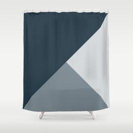Storm Tones Shower Curtain