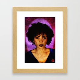 Jasika Nicole Portraits Framed Art Print