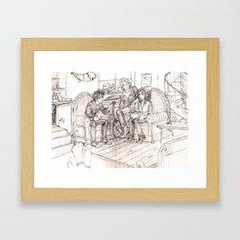 Tale of Three Brothers Framed Art Print