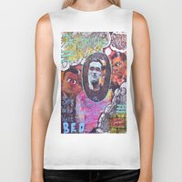 the smiths Biker Tanks featuring Art is Murder//The Smiths by Art By MOP$