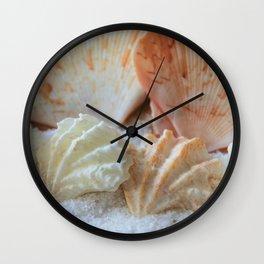 Seashells 2 Wall Clock