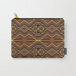 Abstrato laranja Carry-All Pouch