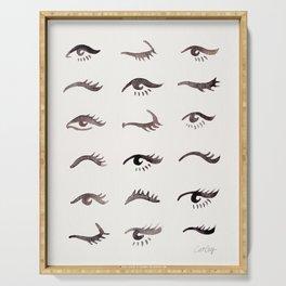 Mascara Envy – Black Palette Serving Tray