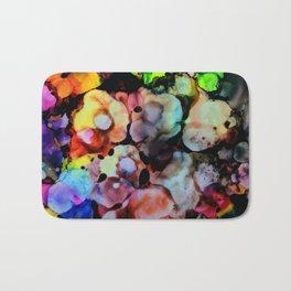 Billowy Flowers Bath Mat
