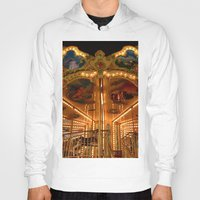 carousel Hoodies featuring The Carousel. by Mikhail Zhirnov