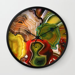 Slivers of the Past, Earth's core Wall Clock