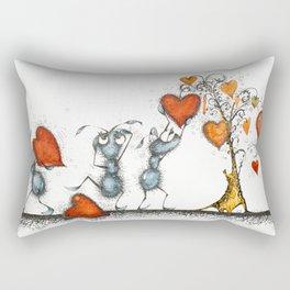 Slaves of love Rectangular Pillow