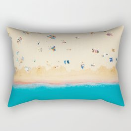 On The Beach  Rectangular Pillow