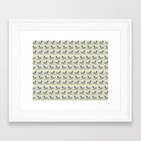 my little pony Framed Art Prints featuring MY LITTLE PONY by MINIZUKA