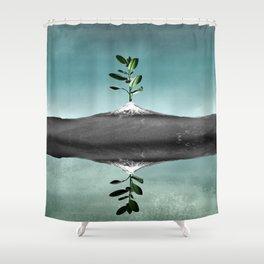 Dramatic scenario Shower Curtain