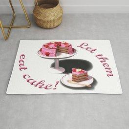 Let them eat cake! Rug