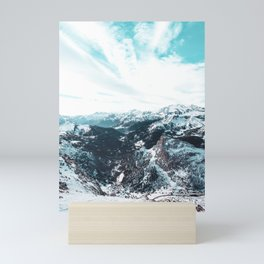 Stormy Cold Day Mini Art Print