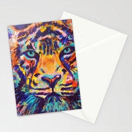 Turquoise-Eyed Tiger Stationery Cards
