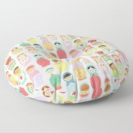 Girl Power Floor Pillow