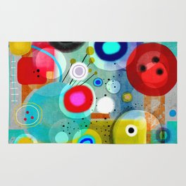 Abstract Art Colorful Rug