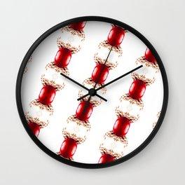 Christmas Pattern #2 Wall Clock