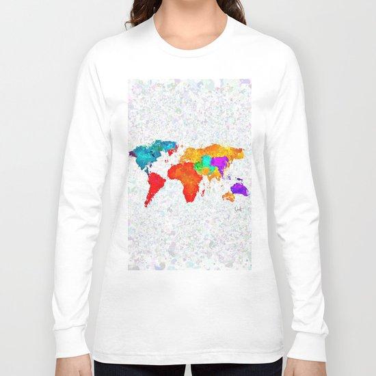 My World of Art   Long Sleeve T-shirt