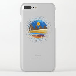 Textures/Abstract 143 Clear iPhone Case