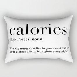 Calories definition Rectangular Pillow