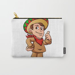 mexican kid cartoon Carry-All Pouch