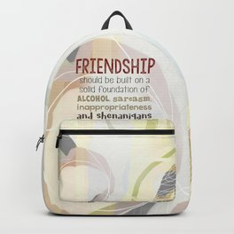 Friendship-Shenanigans Backpack
