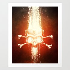 Black Smith Art Print