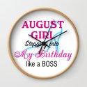 August Girl Birthday by leaflittleleaf